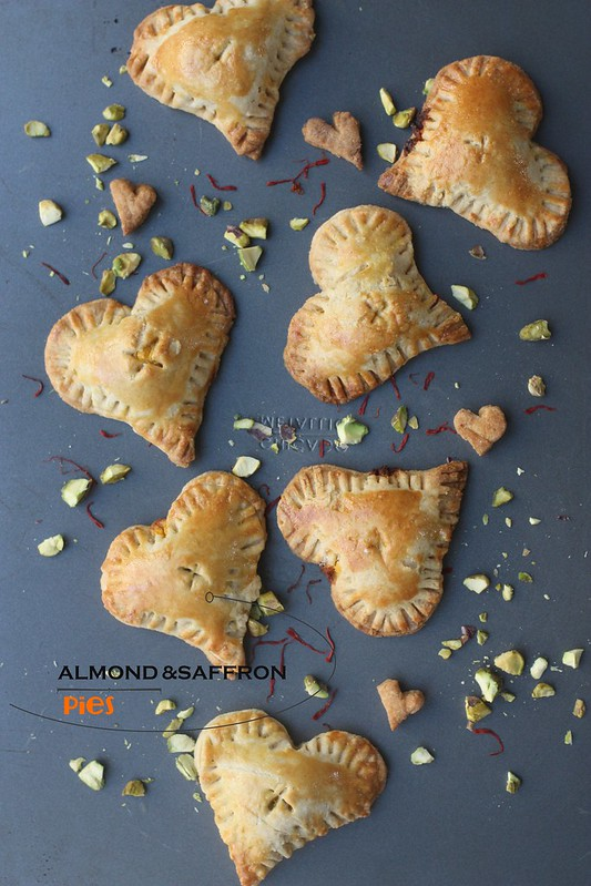 ALMOND AND SAFFRON PIES