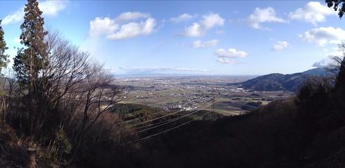 菩提山 山頂からの展望