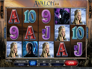 Avalon 2 - Quest for the Grail slot game online review