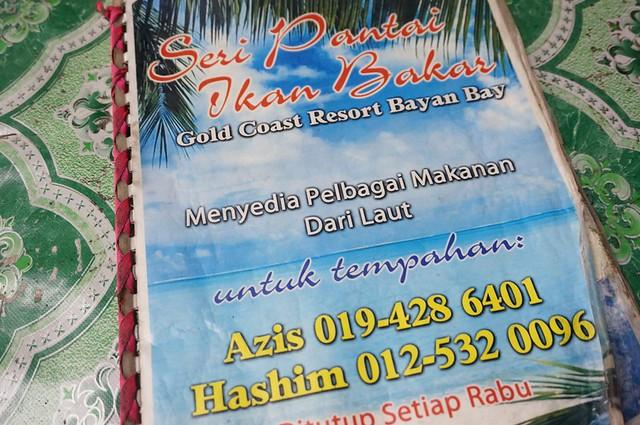 Halal Penang Food ikan bakar Hammer Bay or Seri Pantai - Gold Coast Condominium-004