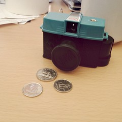 The analog camera I'll use today outside. With orca 110 bw film. #lomography #cameraporn #camera