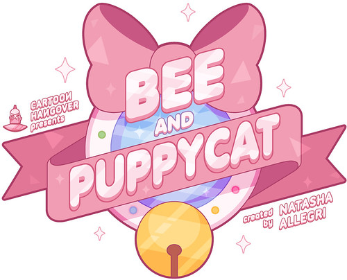 """Bee and PuppyCat"" logo"