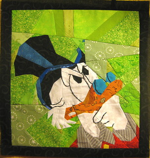 Quilt&Stitch TestAlong, Mickey Mouse-Donald Duck