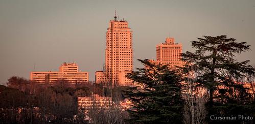 Los edificios de Plaza de España