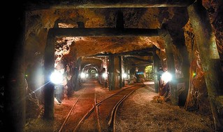 Las minas se han convertido en un atractivo turístico.