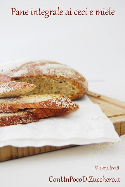 No knead bread ai ceci e miele 1