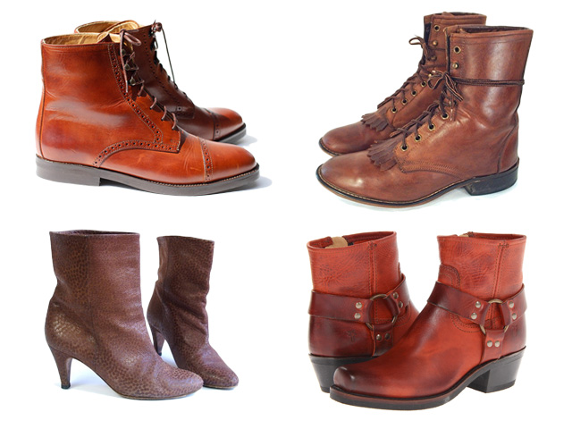 4 ethical fashion vintage lace-up boots my fair vanity