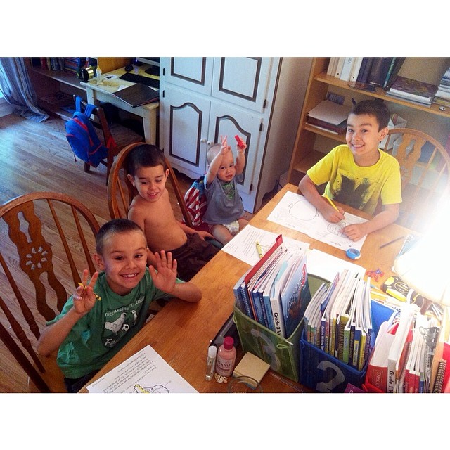 Starting some new health curriculum with the boys on the human body. Just because it's may doesn't mean you can't study or start something new :) #beautyofhomeschool #homeschool #homeschooling #boymom #dudemom
