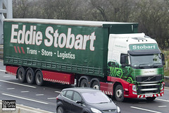 Volvo FH 6x2 Tractor - PX10 DGO - Jessica Pheobe - Eddie Stobart - M1 J10 Luton - Steven Gray - IMG_2986