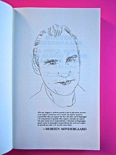 A Vinci, [...], di Morten Søndergaard. Del Vecchio edizioni 2013. Art direction, cover, logo: IFIX. Precede il frontespizio, ill. b/n, ritratto dell'autore e breve testo a sua firma: pag. 5 (part.), 2