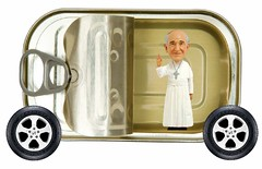 The Popemobile, as Seen by Pope Francis