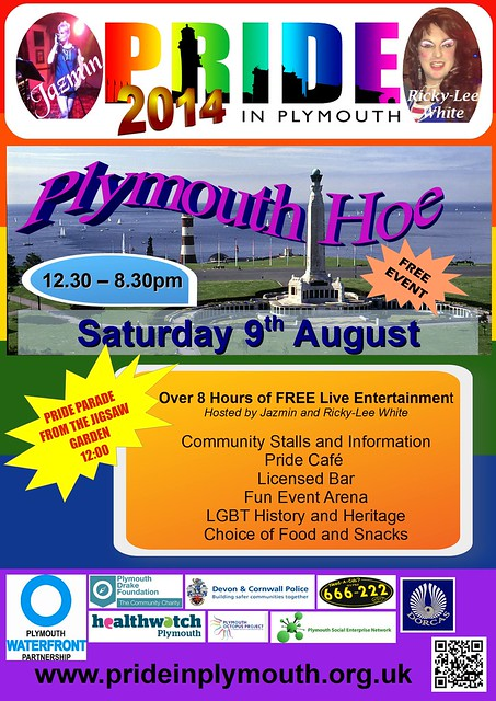 Plymouth Pride Poster 2014