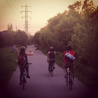 Western Beltline - not as well known but just as good. #biketo