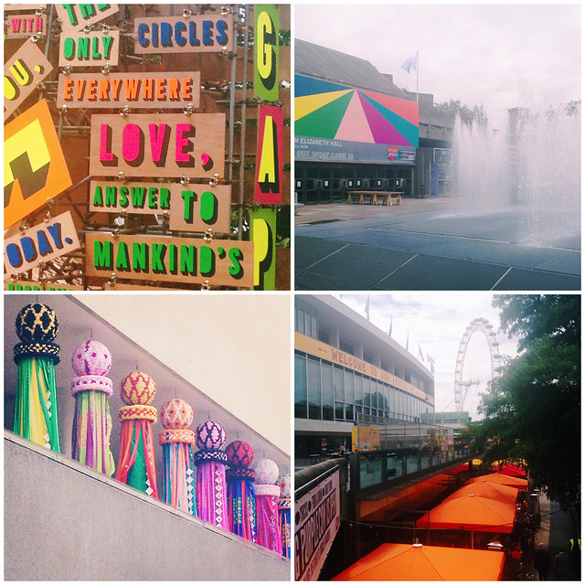 The colours of Southbank