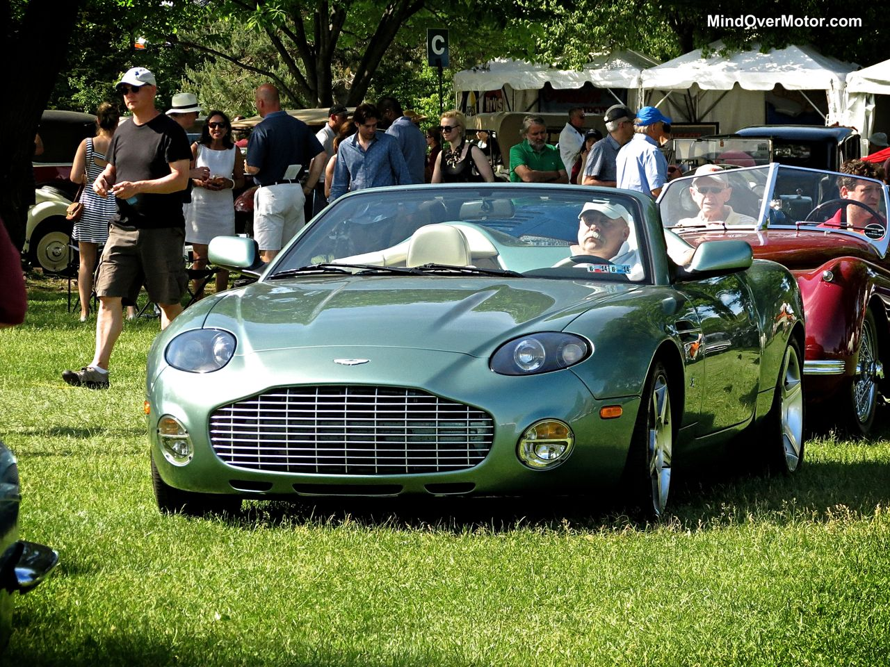 Aston Martin DBAR1 Zagato at the Greenwich Concours