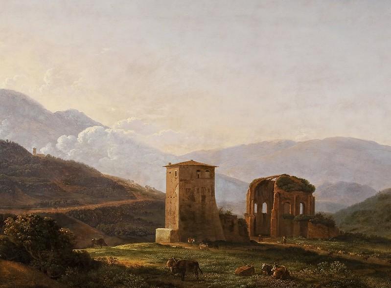Jean Joseph Xavier Bidauld - Paysage italien