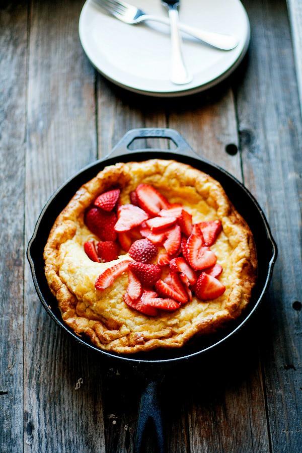 Oven Baked Skillet Pancake