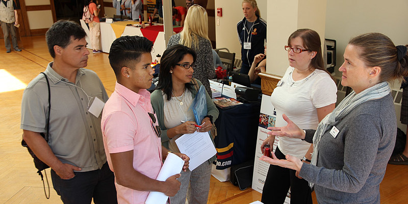 Incoming students and their families are visiting campus for  Summer Orientation to Academics and Resources to help prepare for the transition to university.