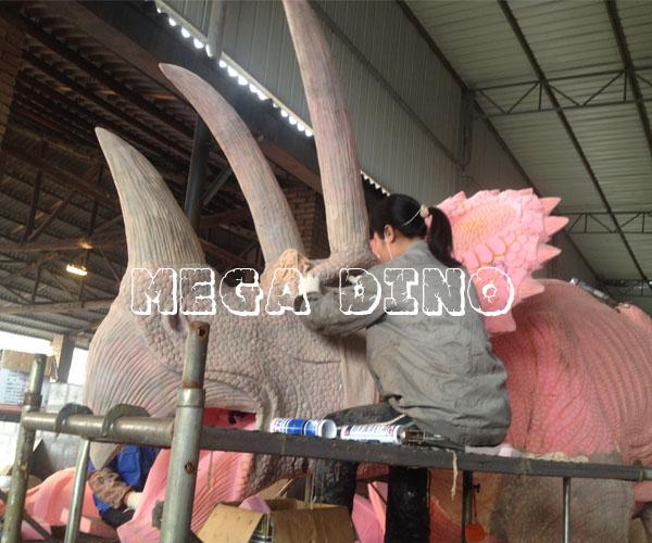 Custom Design Triceratops Replica