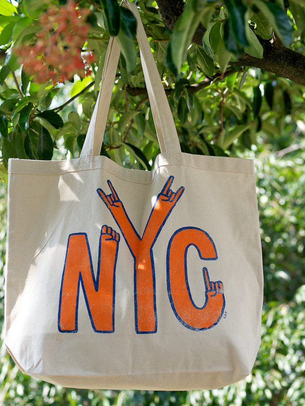 PalmerCash / NYC Hands Tote Bag