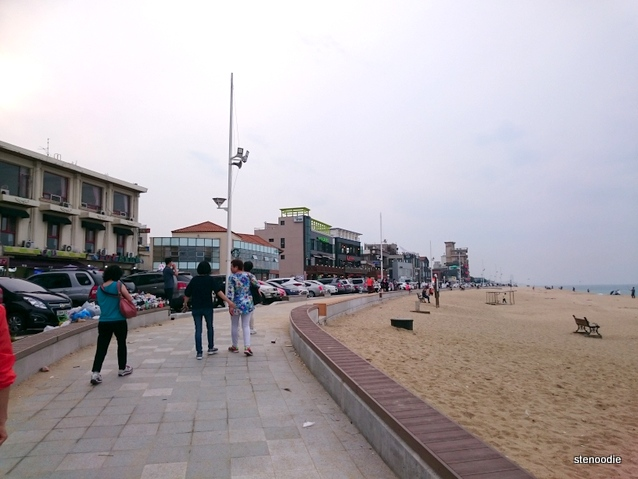 beach beside Coffee Street