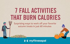 7 Fall Activities that Burn Calories [Infographic]