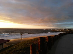 Sunset at Redondo Beach, California