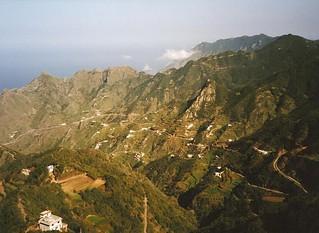 Anaga area from Pico del Ingles