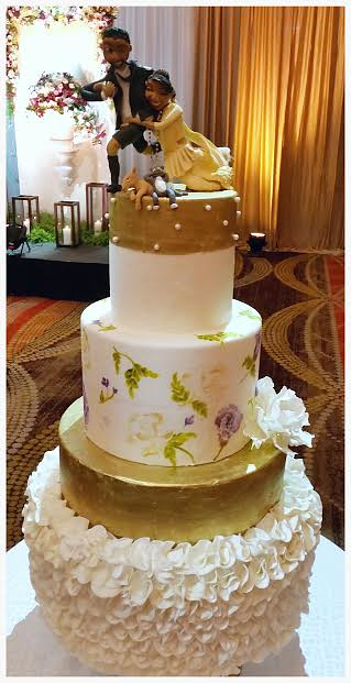 Wedding Cake by Chammarie Daniel of Savy's