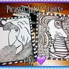 Picasso ~ Artist Series #picasso  #artbyMicheleMQuam  #ChelMariesCreativeCorner  #artistseries #blacknwhite #zentangleinspiredart