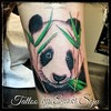 "Cute lil Panda :panda_face: Tattoo! Very Happy with the turn out! Thanks for looking!  Tattoo by Enoki Soju --  To see more of my work you can either google my name ""Enoki Soju"" or visit my Artist Page on Facebook at: http://www.facebook.com/enokisojutatt"