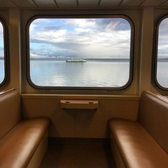 morning crossing to Whidbey Island.
