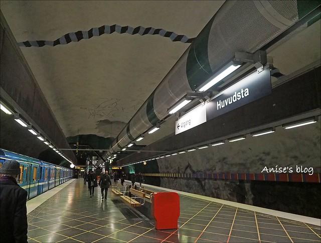 斯德哥爾摩藝術地鐵036