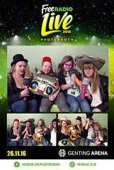 Free Radio Live Photobooth
