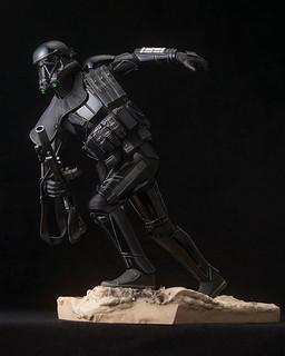 ARTFX 《星際大戰外傳:俠盜一號》「死亡兵」 精彩作品推薦!スター・ウォーズ デス・トルーパー スペシャリスト