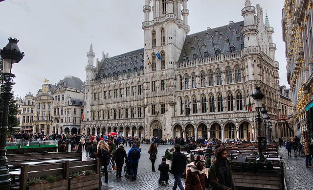 Grand Place....
