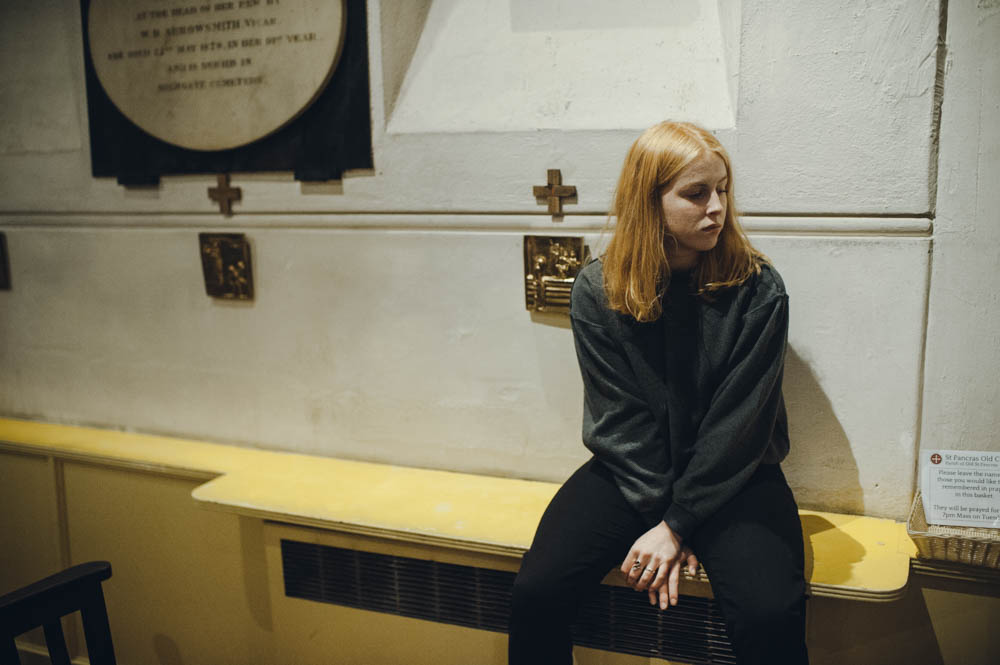 BTS with Fenne Lily at St Pancras Old Church