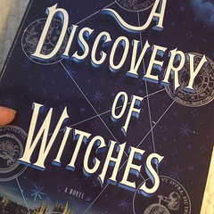 I will be SO HAPPY when @DebHarkness finishes the series. Until then, looks like I'm rereading. Again.