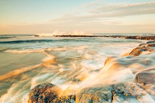 ocean sunset seascape beach canon jerseyshore atlanticocean canon5dmkiii 5dmkiii bradleybeachjerseyshore