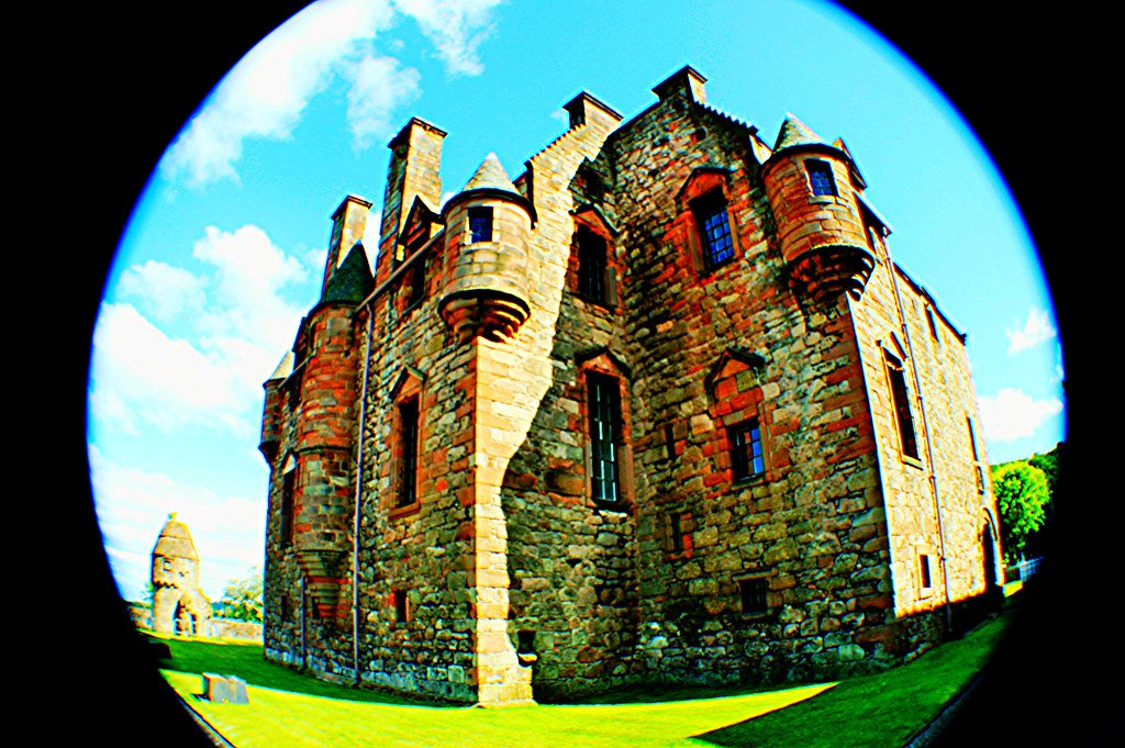 Newark Castle, Port Glasgow, Scotland