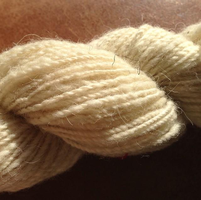 50g North Ronaldsay handspun - undyed