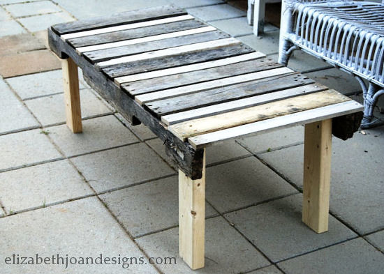 Pallet table 10