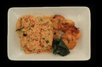 BBQ Prawn with Couscous Salad - ICN