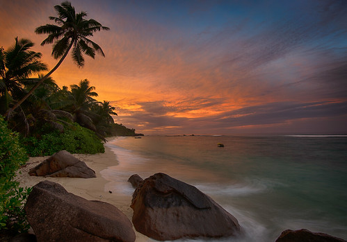 Sunset colors, Seychelles