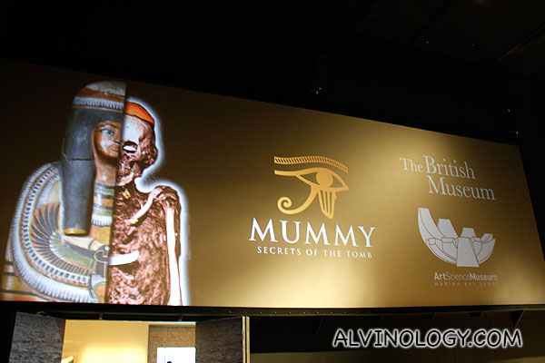 Mummy: Secret of the Tomb at ArtScience Museum