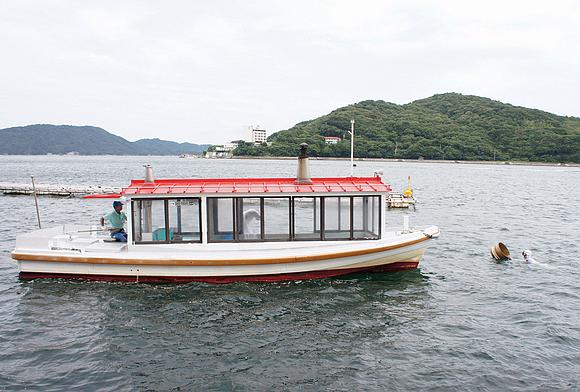 日本海女表演15