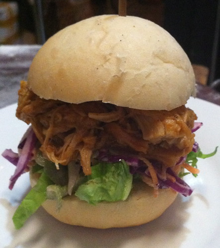 pulled pork slider