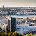 View over Stockholm from Hammarbybacken by AdamTje
