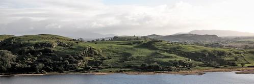 panorama see felder wiese landschaft countyclare