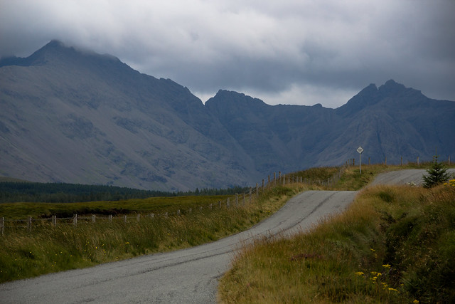 A Country Road - Isle of Skye